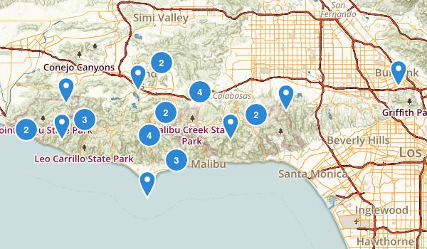 Santa Monica Mountains National Recreation Area Map