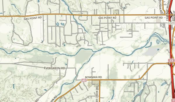 Shasta National Rec. Area Map