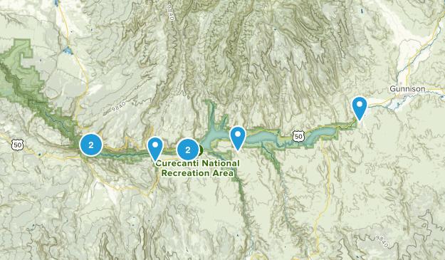Curecanti National Recreation Area Map