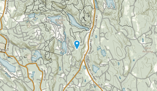 Bennetts Pond State Park Map