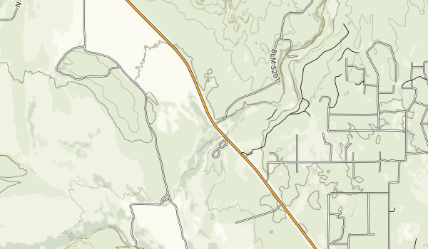Upper Green River Recreation Area Map