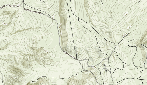 Three Patches Recreation Area Map