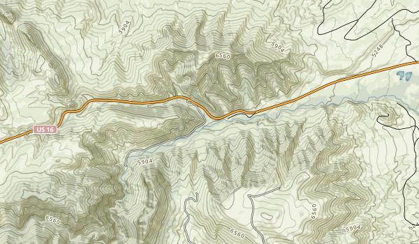 Mosier Gulch Recreation Area Map