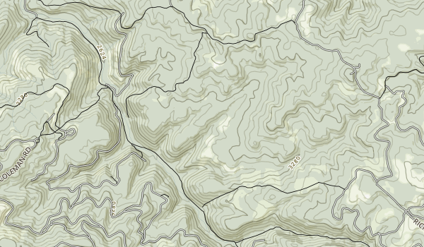 Gauley River National Recreation Area Map