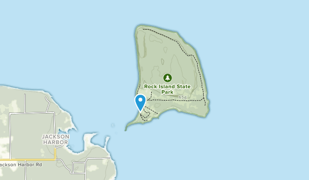 Rock Island State Park Map