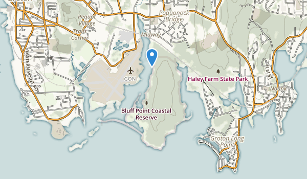 Bluff Point State Park Map