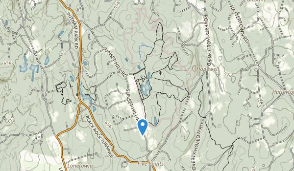 Collis P. Huntington State Park Map
