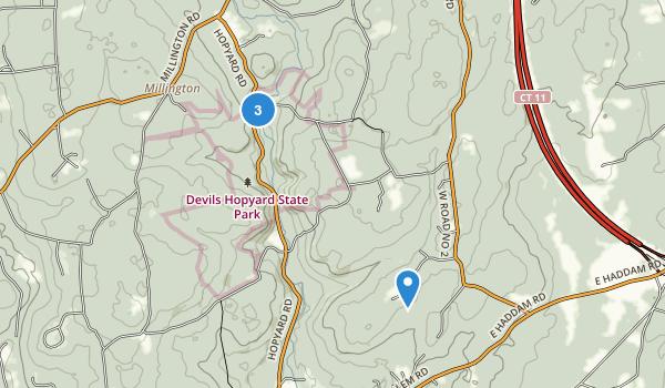 Devil's Hopyard State Park Map
