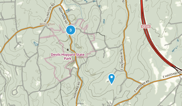Devil's Hopyard State Park Map