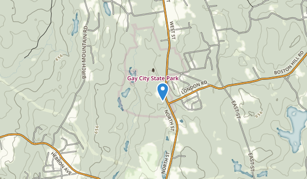 Gay City State Park Map
