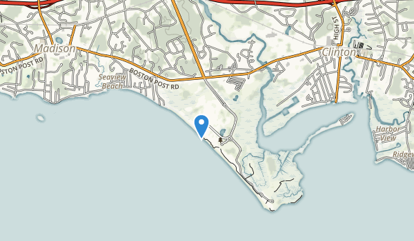 trail locations for Hammonasset State Park