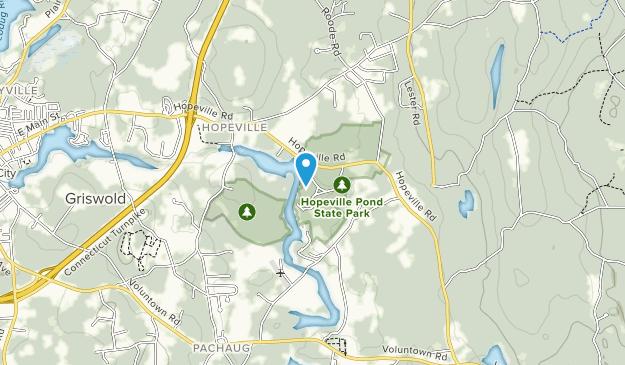Hopeville Pond State Park Map