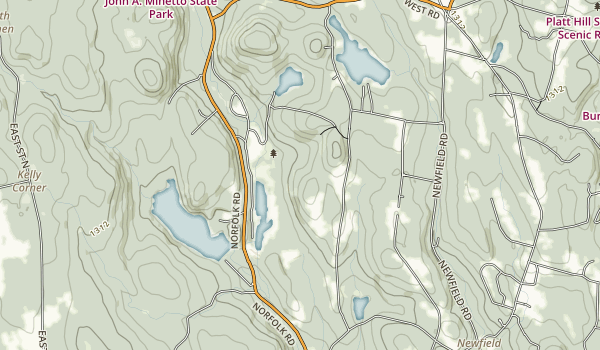 John A. Minetto State Park Map