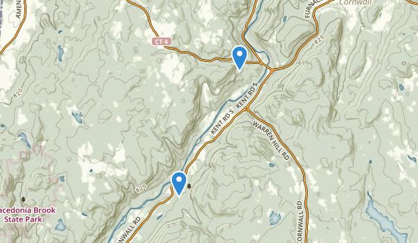 Kent Falls State Park Map