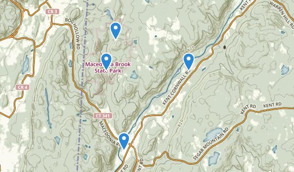 Macedonia Brook State Park Map