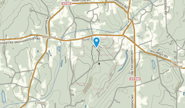 Mashamoquet Brook State Park Map