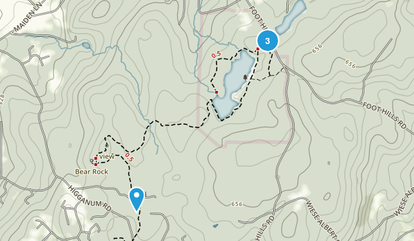 Millers Pond State Park Map