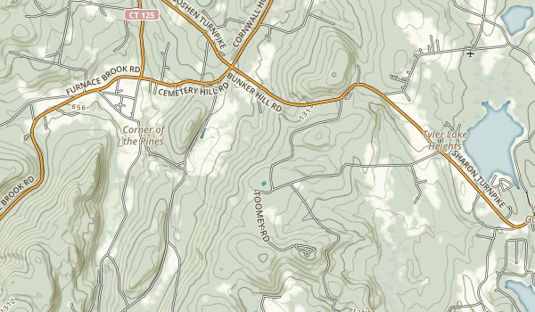 Mohawk Mountain State Park Map
