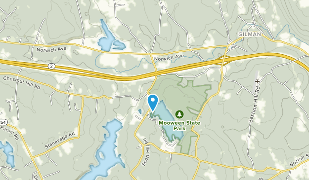 Mooween State Park Map