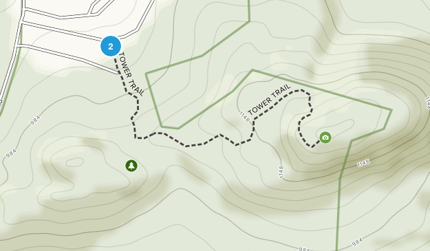 Mount Tom State Park Map