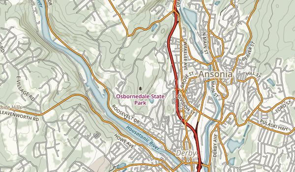 Osbornedale State Park Map