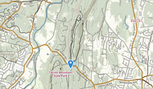 trail locations for Penwood State Park
