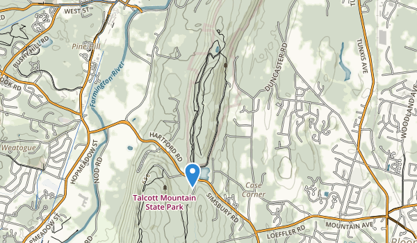 Penwood State Park Map