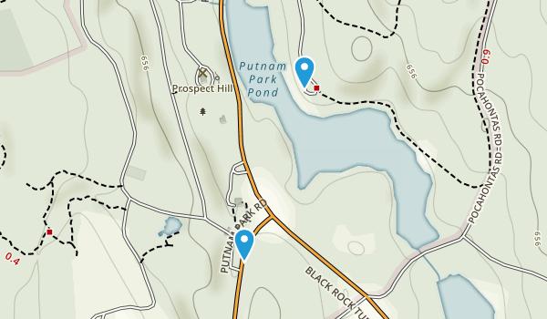 Putnam Memorial State Park Map