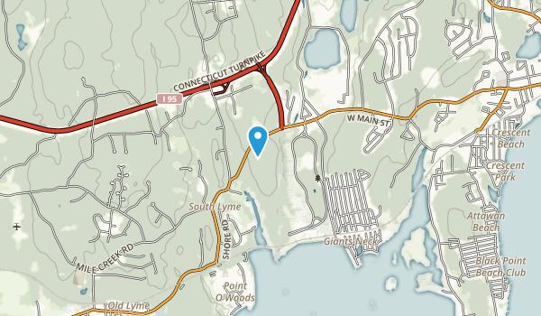 Rocky Neck State Park Map