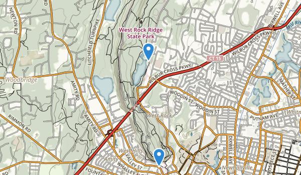 West Rock Ridge State Park Map