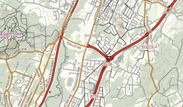 Wharton Brook State Park Map