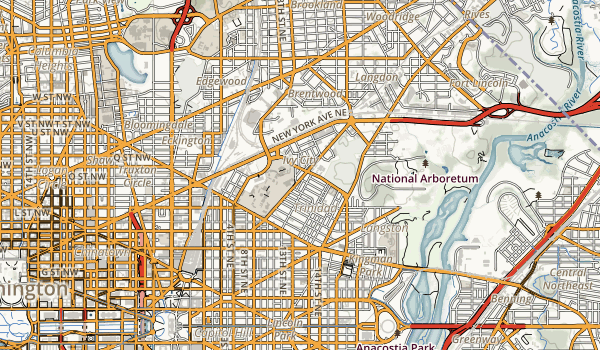Capitol Hill Parks Map