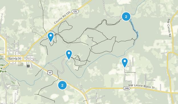 Big Shoals State Park Map