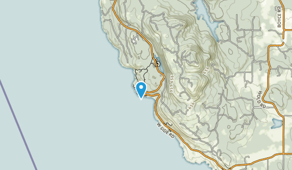 Lime Kiln Point State Park Map