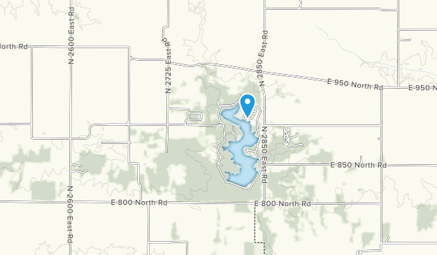 Moraine View State Recreation Area Map