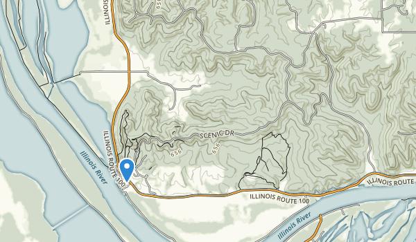 Pere Marquette's State Park Map