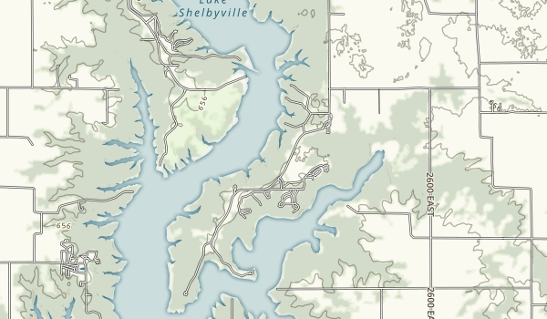 Wolf Creek State Park Map
