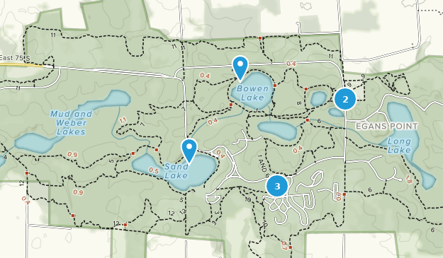 Beste Wege in Chain O\' Lakes State Park - Indiana | AllTrails