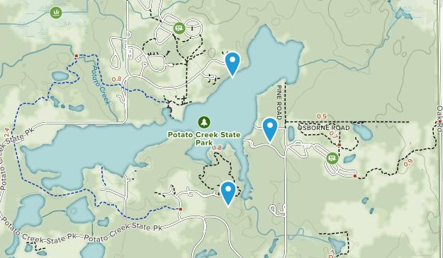 Potato Creek State Park Map