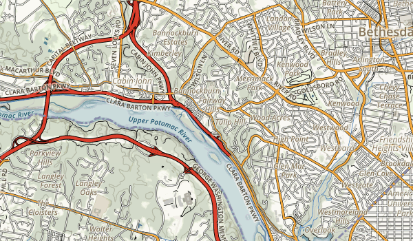 Glen Echo Park Map
