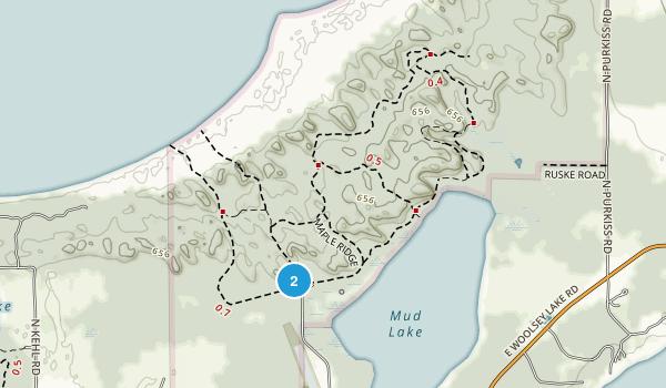 Leelanau State Park Map