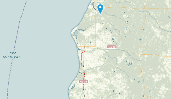 Silver Lake State Park Map