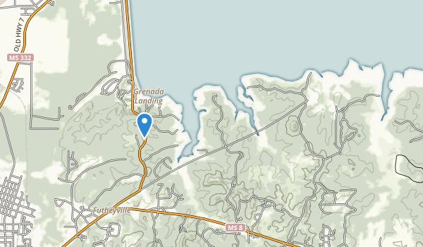 Hugh White State Park Map