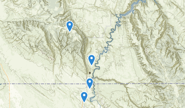 Bighorn Canyon National Recreation Area Map