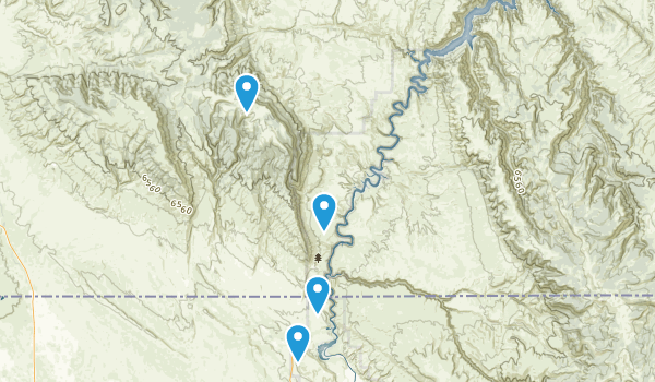 Bighorn Canyon National Recreation Area Map