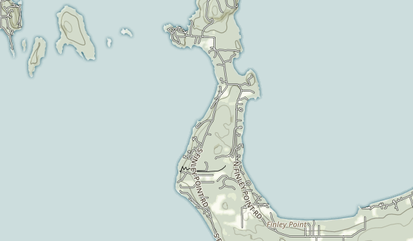 Finley Point State Park Map