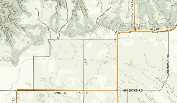 Pine Ridge National Recreation Area Map
