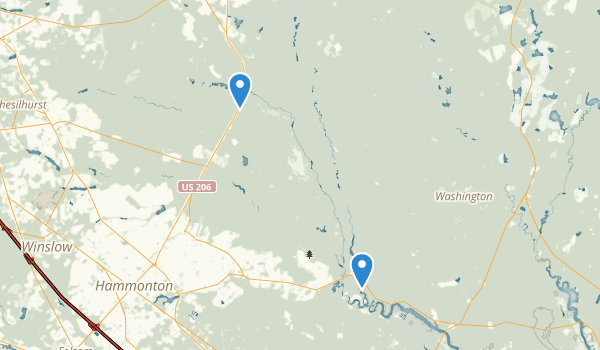 Atsion Recreation Area Map