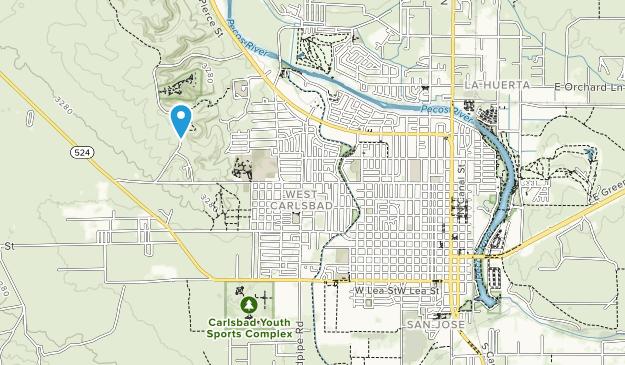 Living Desert Zoo & Gardens State Park Map