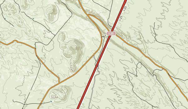 San Lorenzo Canyon Recreation Area Map